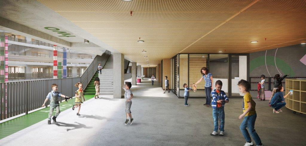 Artist impression of the Parramatta Public School Redevelopment