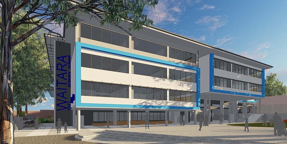 Waitara Public School upgrade